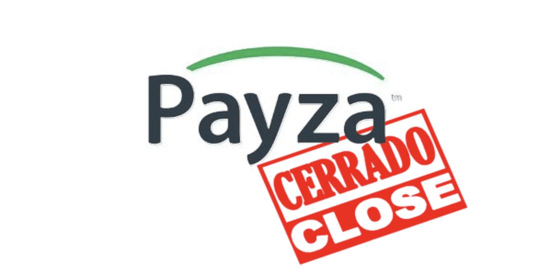 Payza continúa cerrado